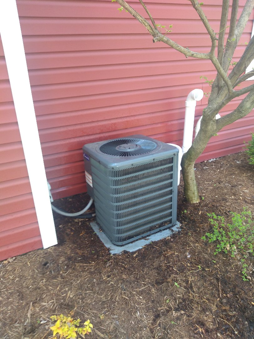 Madison, WI - Amana furnace and air conditioning cleaning.