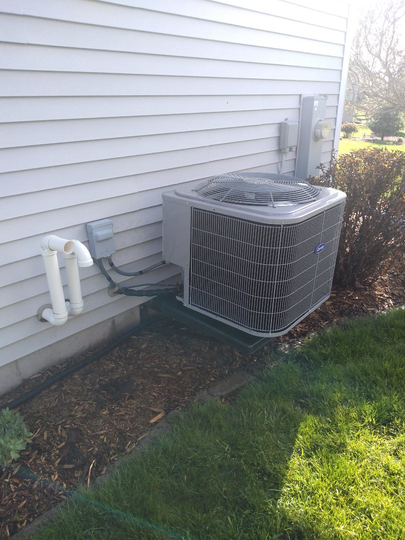 Madison, WI - Carrier furnace and AC cleaning and maintenance .