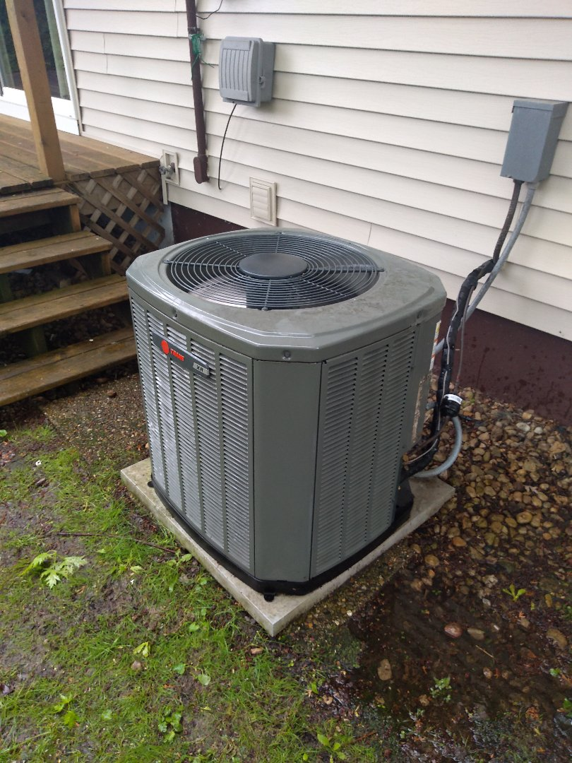 Madison, WI - Trane air conditioning cleaning and maintenance.