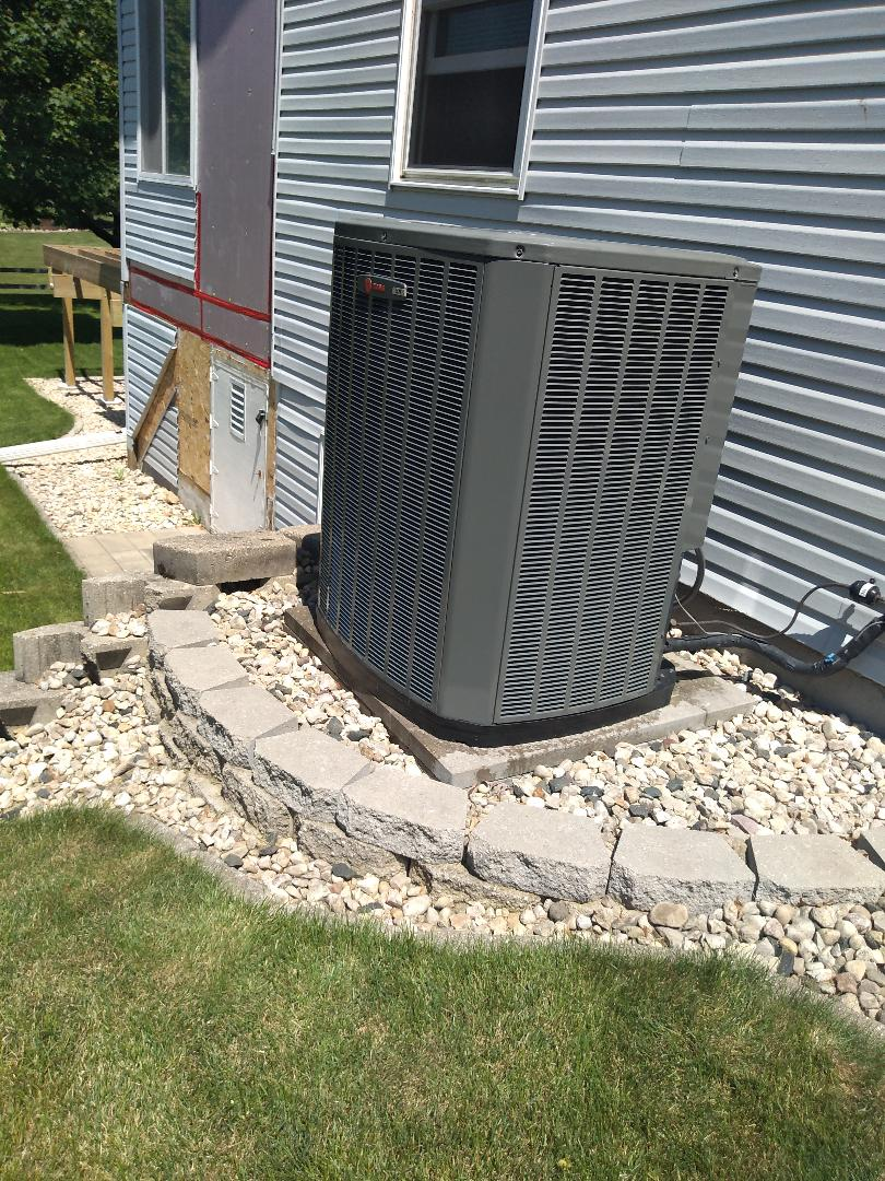 Madison, WI - Trane AC cleaning and maintenance
