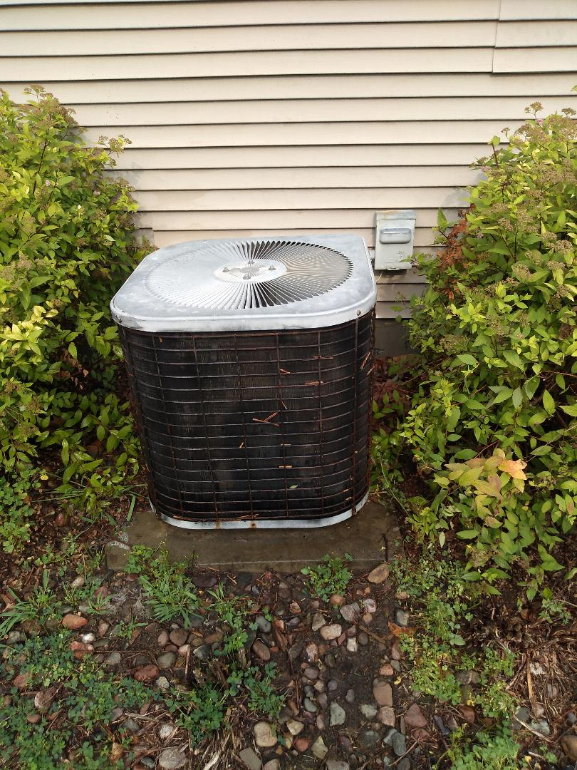 Fitchburg, WI - Ac clean and check over