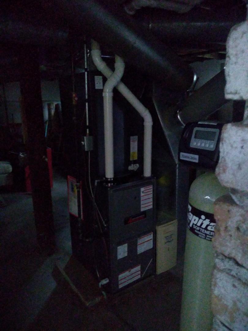 Madison, WI - Amana furnace and ac installation.