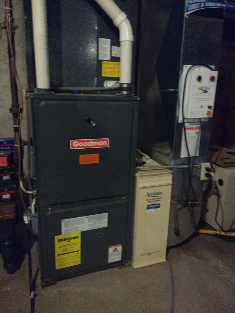 Belleville, WI - Goodman Furnace installation