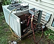 Sun Prairie, WI - AC repair. Ruud compressor replacement.