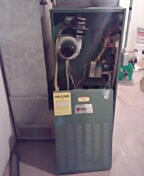 Oregon, WI - Replacing Olsen furnace with lennox gas furnace