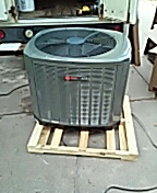 Sun Prairie, WI - Installing new TRANE Air Conditioner