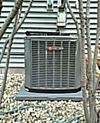 Middleton, WI - Installing new TRANE Air Conditioner