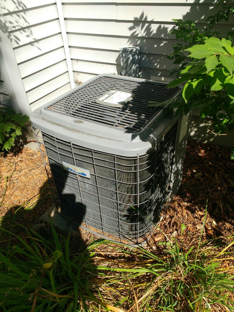 Verona, WI - trane Air conditioner coil installation