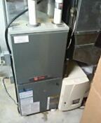 Verona, WI - Furnace maintenance. Trane system
