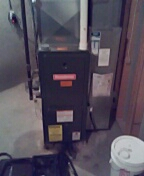 Middleton, WI - Furnace cleaning and maintenance. Goodman furnace