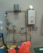 Verona, WI - Rinnai boiler clean and service