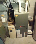 Stoughton, WI - Furnace and AC clean and tune. Trane system.