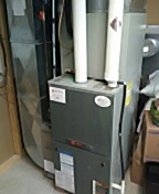 Waunakee, WI - Furnace inspection. Trane unit.