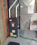 Waunakee, WI - Furnace cleaning. Goodman unit