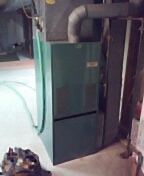Stoughton, WI - Furnace service and cleaning. Borg Warner