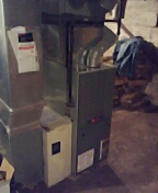 Cambridge, WI - Cleaning andservice furnace.Trane furnace