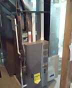 Stoughton, WI - Furnace clean and service. Luxaire furnaces