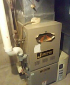 Middleton, WI - Service and clean Janitrol furnace