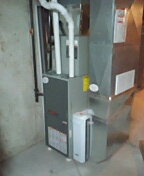 Stoughton, WI - clean trane furnace