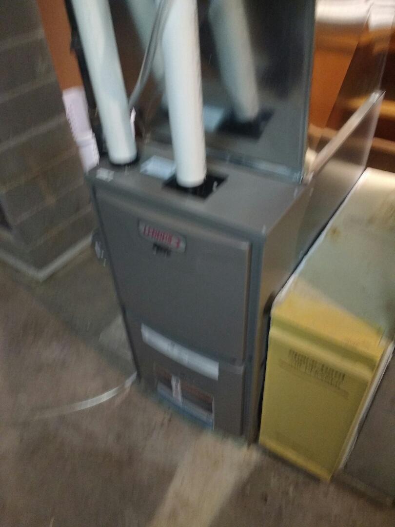 Sun Prairie, WI - Lennox furnace installation