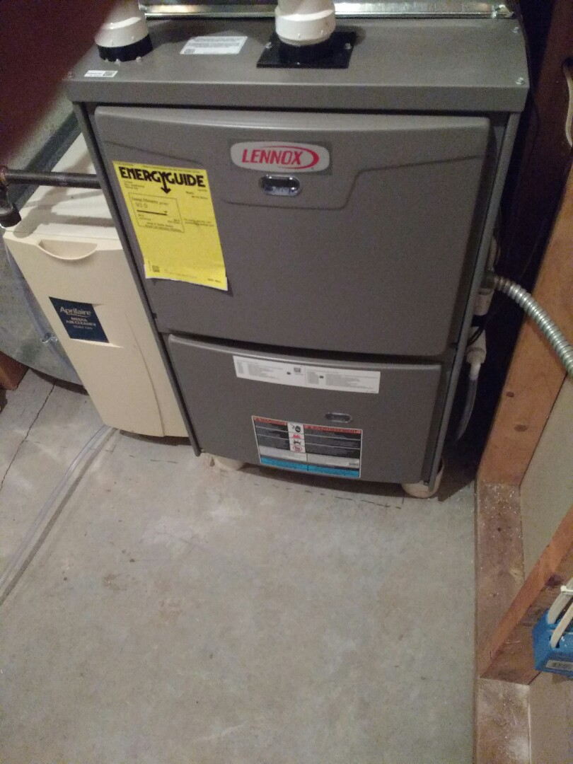 Cross Plains, WI - Lennox furnace installation