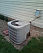 Middleton, WI - AC inspection. Goodman unit.