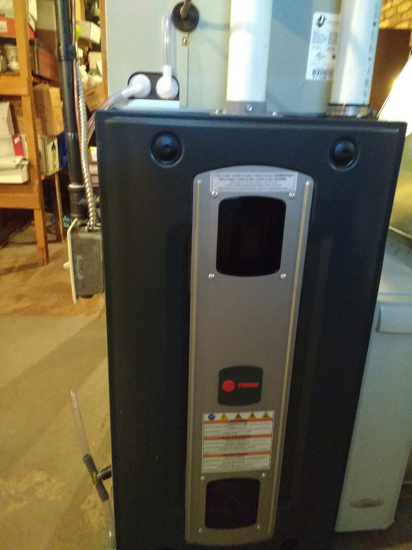 Madison, WI - Trane furnace and air conditioner installation