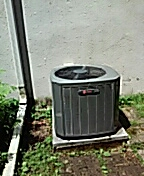 Madison, WI - AC maintenance and cleaning. TRANE system.