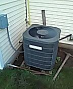Madison, WI - AC services and maintenance.  Goodman unit.