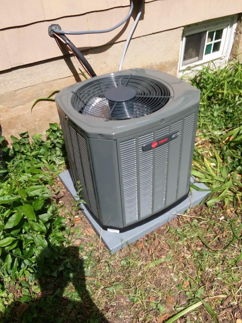 Madison, WI - Trane air conditioner installation