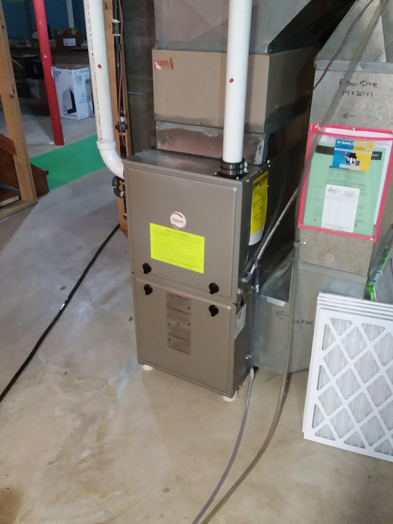 Middleton, WI - Payne furnace installation