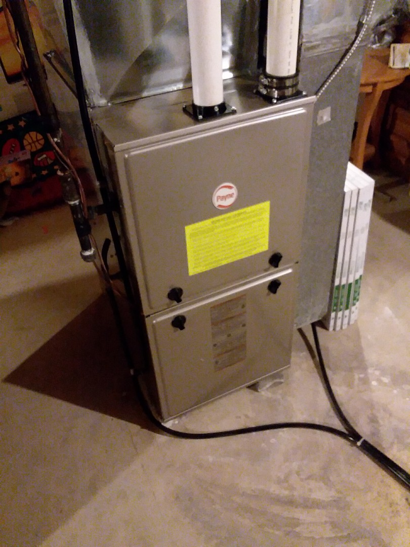 Cottage Grove, WI - Payne furnace installation