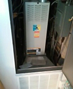 Madison, WI - Furnace cleaning. Bryant unit