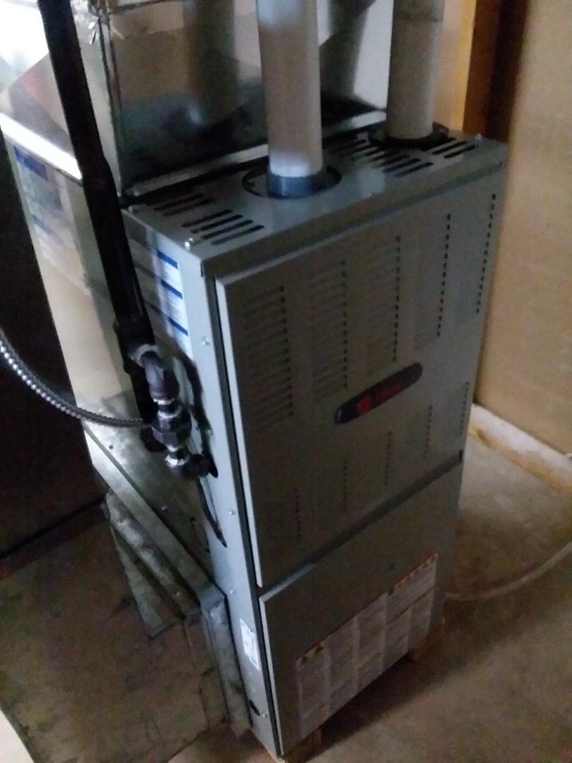 Madison, WI - Trane furnace installation