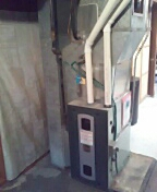 Madison, WI - Furnace installed. Trane unit.