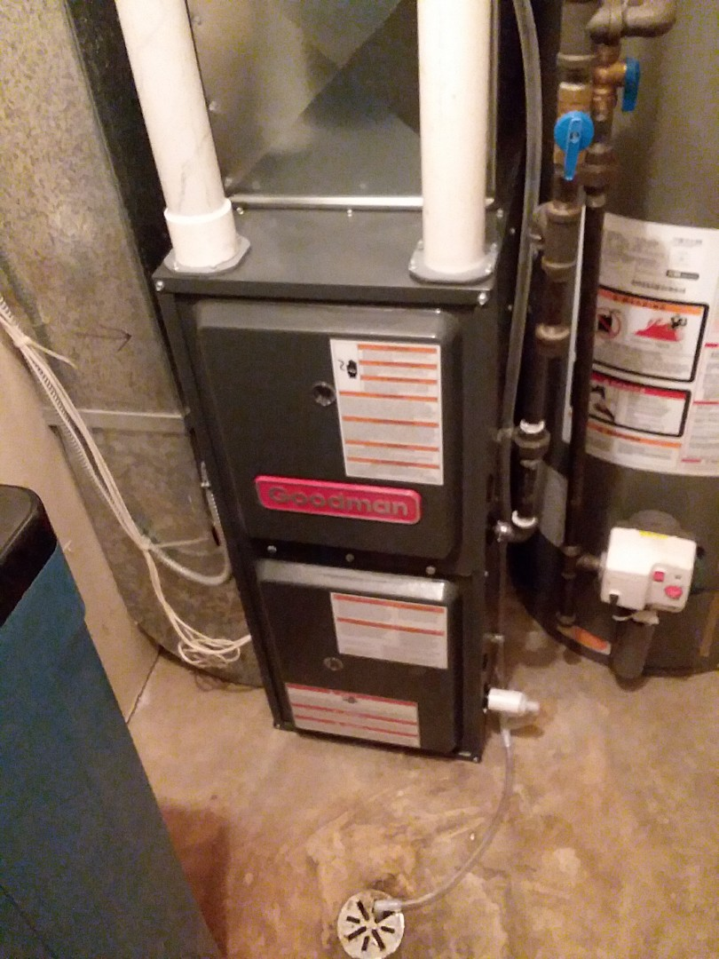 Verona, WI - Goodman furnace installation