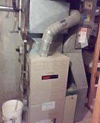 Madison, WI - Furnace maintenance and services. Lennox unit.