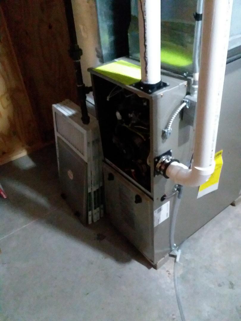 Madison, WI - Payne furnace installation