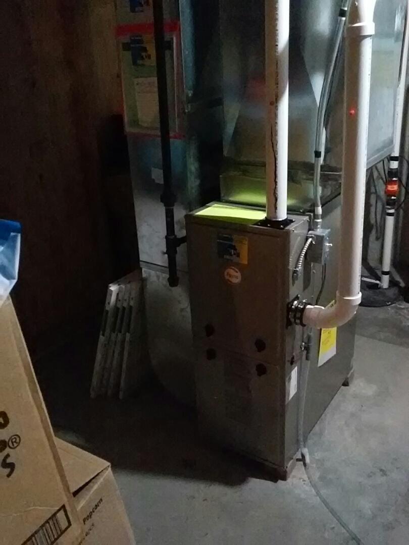 Madison, WI - Furnace installed. Payne unit.