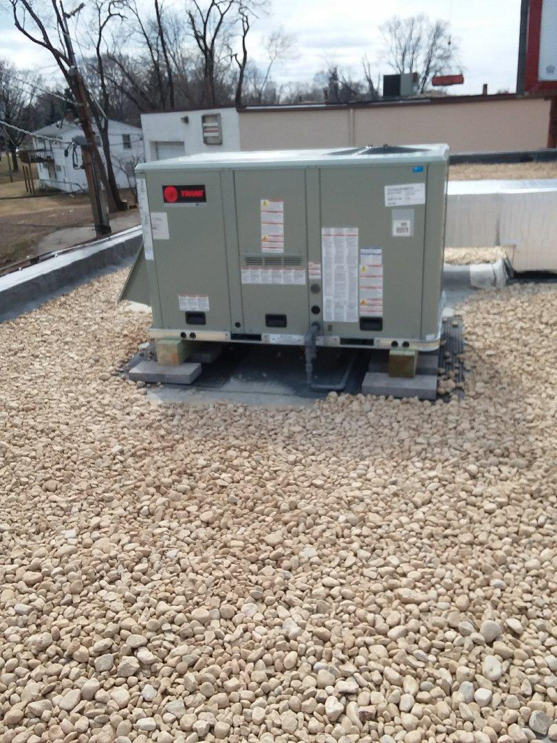 Madison, WI - Trane rooftop installation