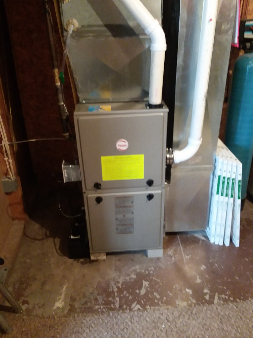 Deerfield, WI - Payne furnace installation