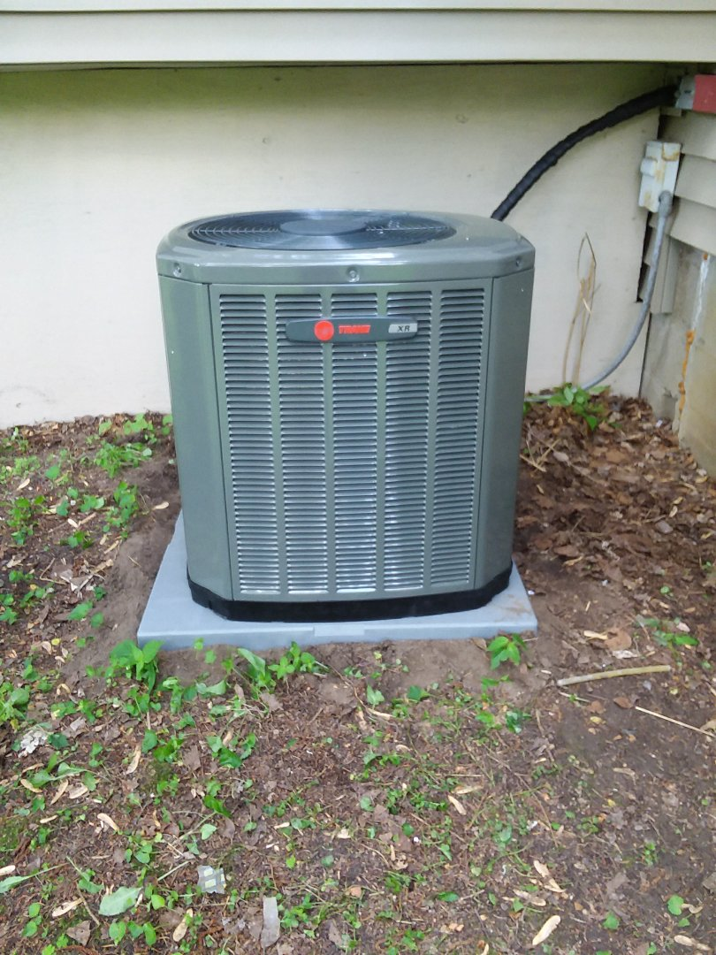 Middleton, WI - Trane air conditioner installation