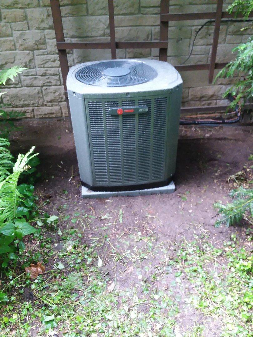 Madison, WI - Trane air air conditioner installation