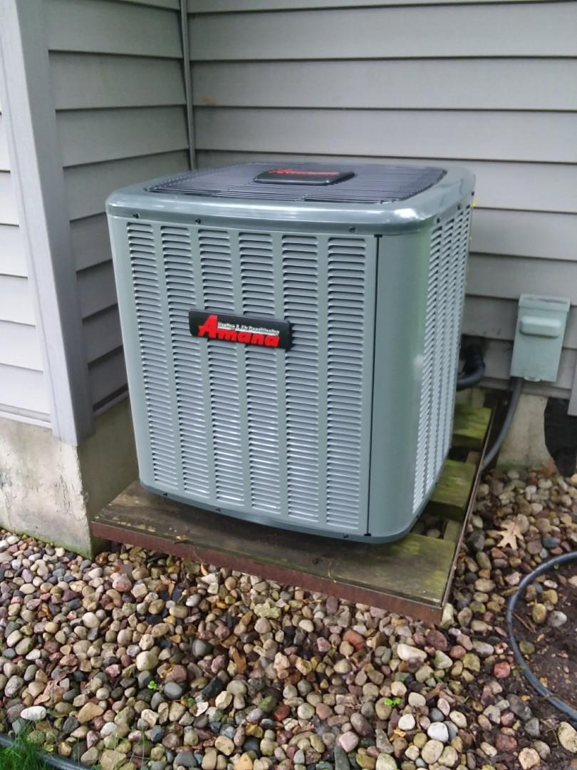 Madison, WI - Amana air air conditioner installation