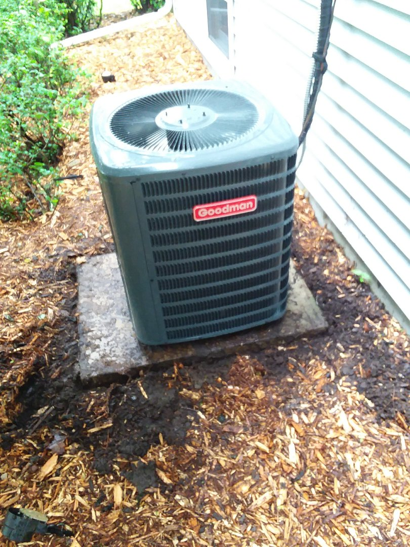 Middleton, WI - Goodman air conditioner installation