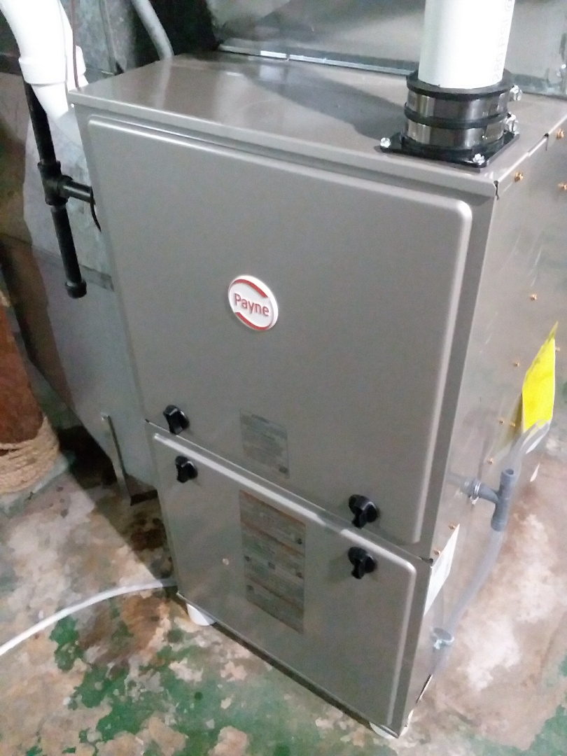 Madison, WI - Payne furnace installation