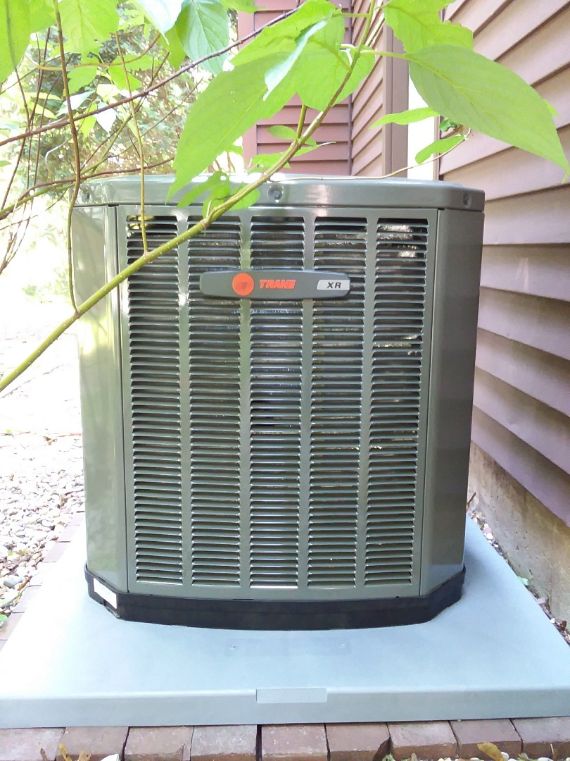Madison, WI - Trane air conditioner installation