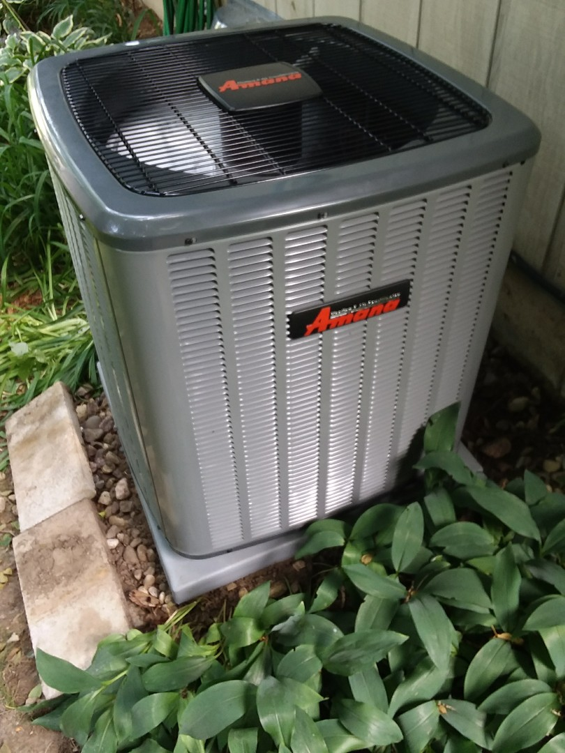 Madison, WI - Amana air conditioner installation