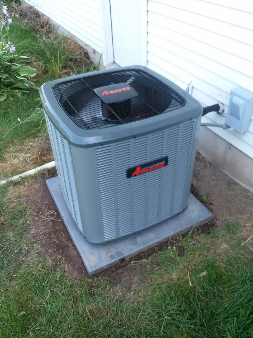 Middleton, WI - Amana  air conditioner installation