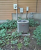 Madison, WI - Drain repair. Trane unit.
